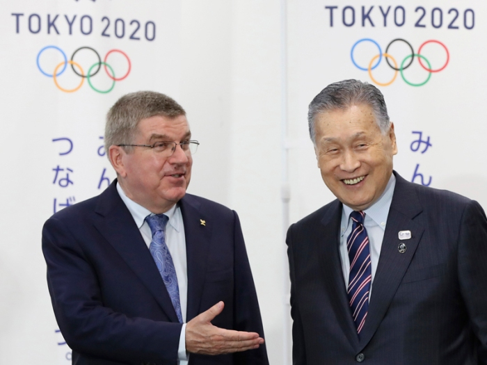 Japan Olympic Tokyo2020 Bach