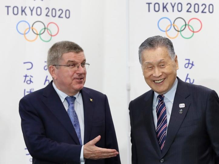 Japan Olympic Tokyo2020 Bach