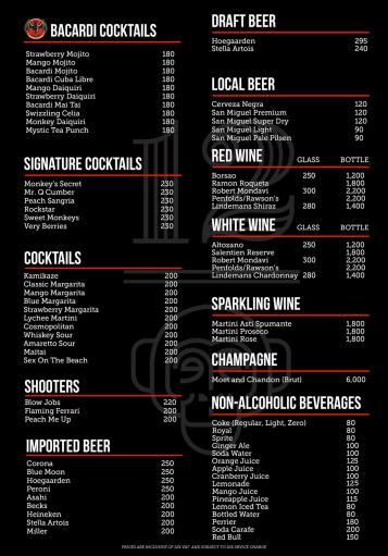 Bar List 1