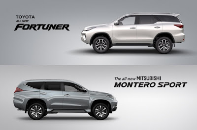 Fortuner and Montero