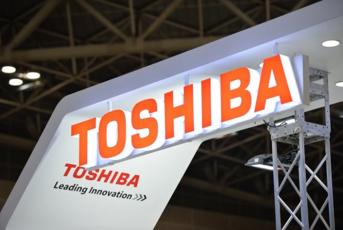 JAPAN-ELECTRONICS-EARNINGS-COMPANY-TOSHIBA