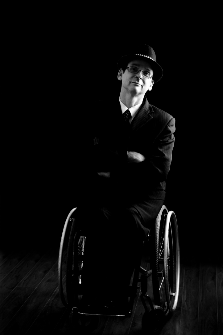Australian singer Tony Dee of the We Are The Superhumans campaign for the Rio 2016 Paralympics (credit Rock This!Photography).