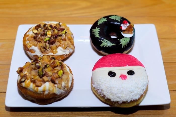 Festive doughnuts at BLRWOK_0032