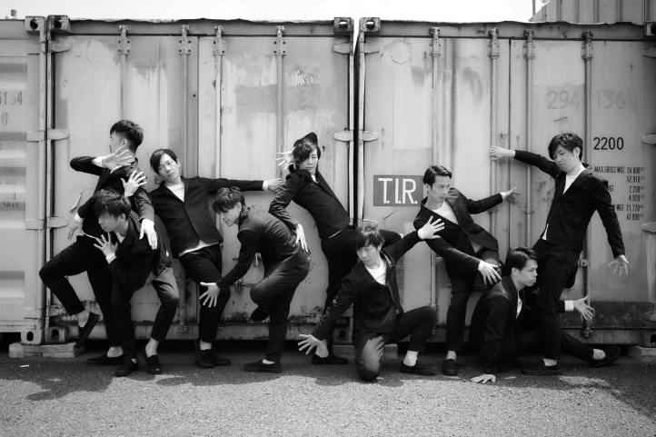 Unique dance style fusing street and contemporary dance from the award-winning dance group DAZZLE of Japan-DAZZLE2018宣材1-2