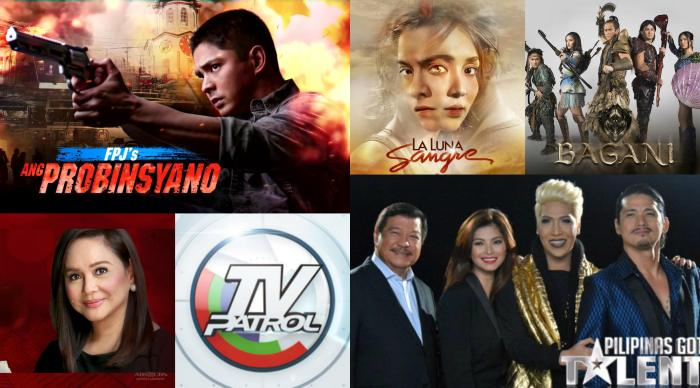The country's most watched programs in March