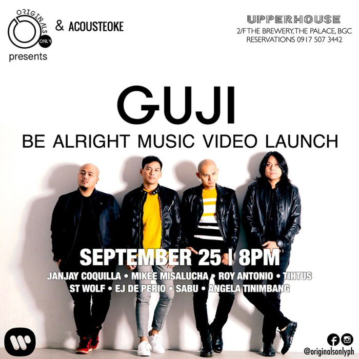 content_guji-be-alright-music-video-launch-upperhouse-2018-poster