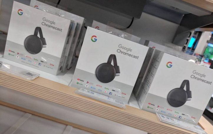 New CHROMECAST Model Found at BEST BUY Before GOOGLE Event